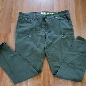 Indigo army green pants!